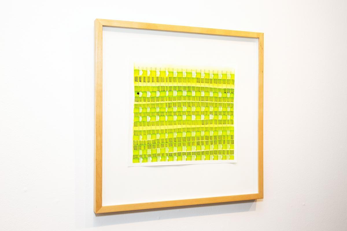 Amplitude 570 a drawing by Stella Untalan.