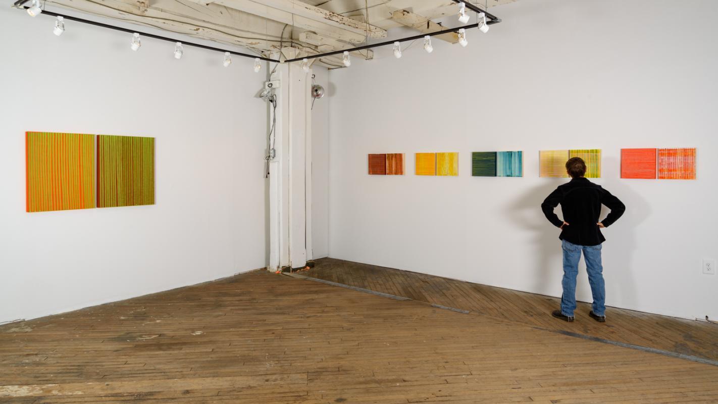 Stella Untalan Drawings at ARTSPACE 1241 in Philadelphia