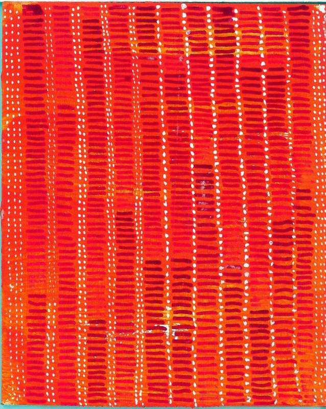 radical warp 5 orange drawing by stella untalan