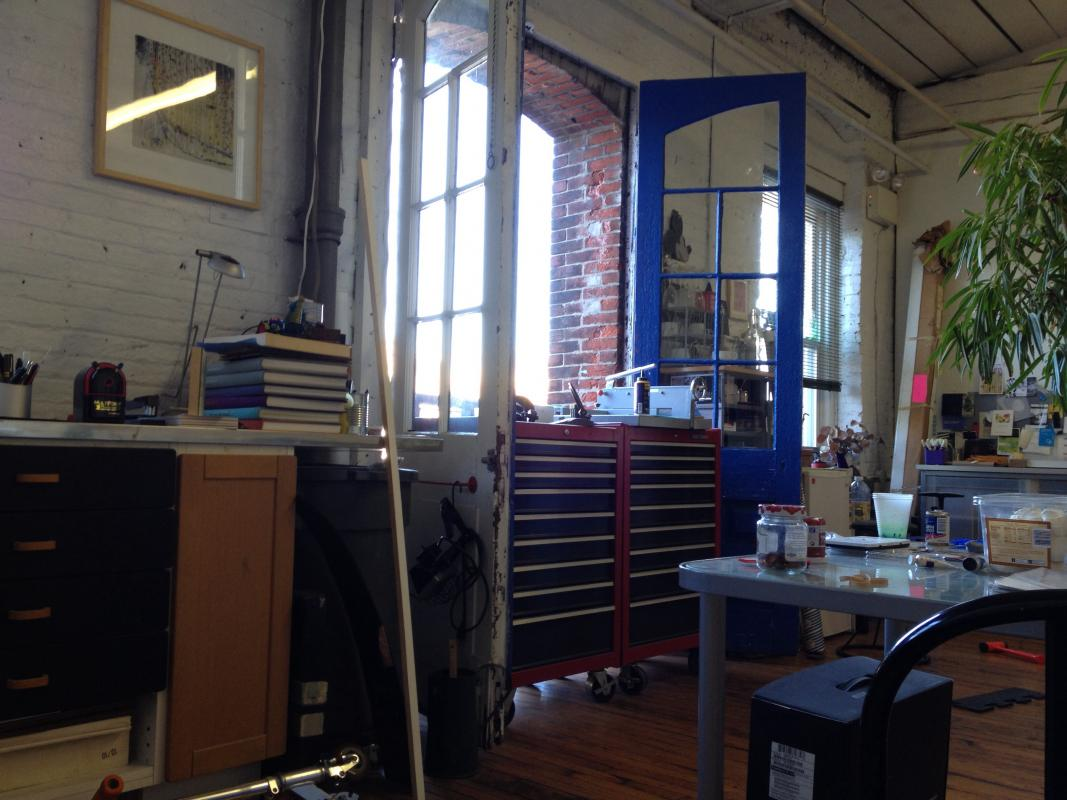 studio rearranging