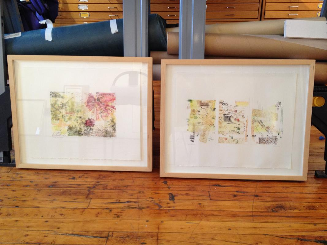 two rare earth drawings