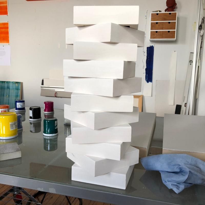 Stack of 6x6 panels
