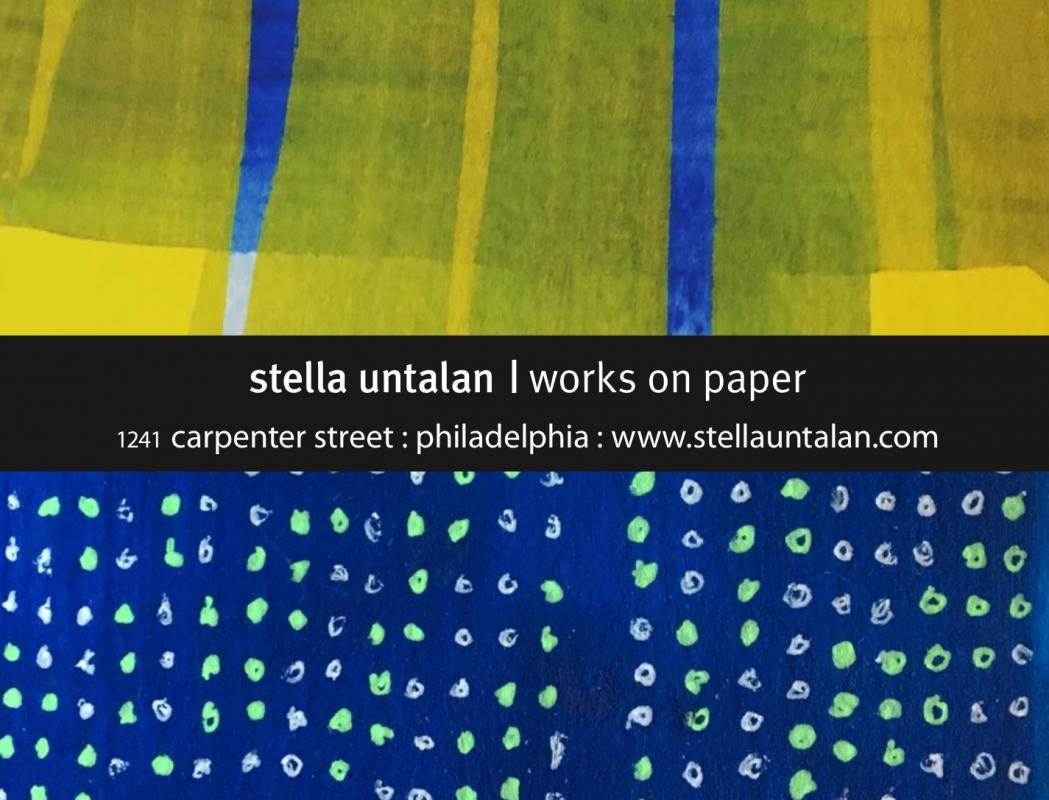Stella Untalan as for Philadelphia Open Studio Tours