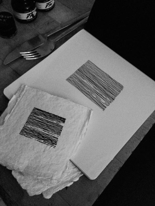 New drawings, three pen dips by Stella Untalan.