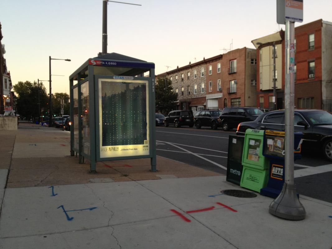 Made in Philly, Stella Untalan, Bus Shelter, Open Studio Tours