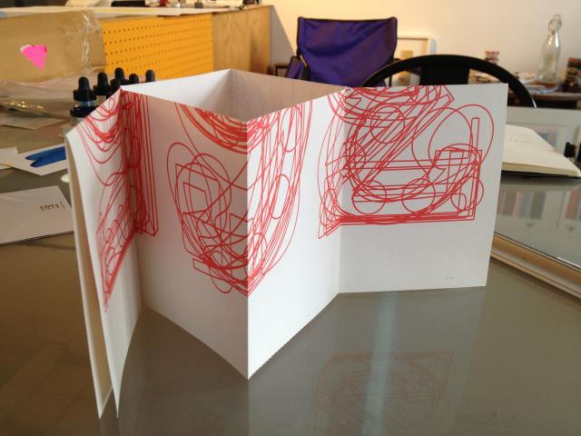 Single-sheet book prototype