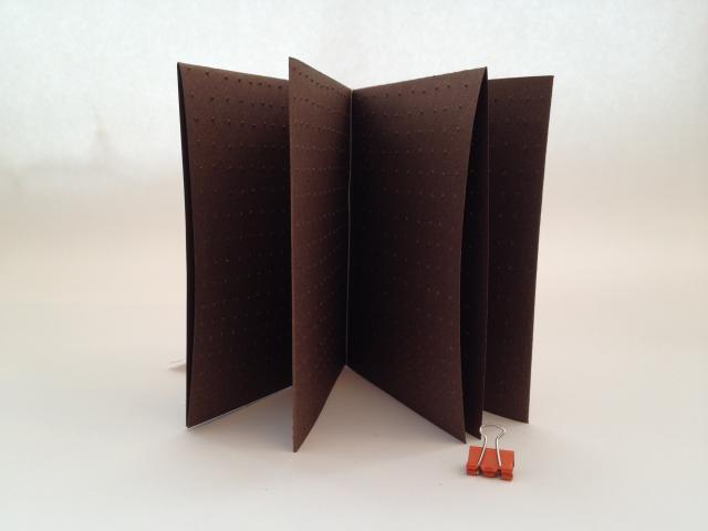 point by point a single-sheet book by stella untalan