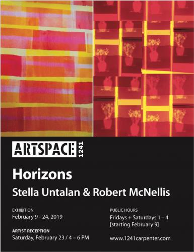 Horizons: Robert McNellis and Stella Untalan