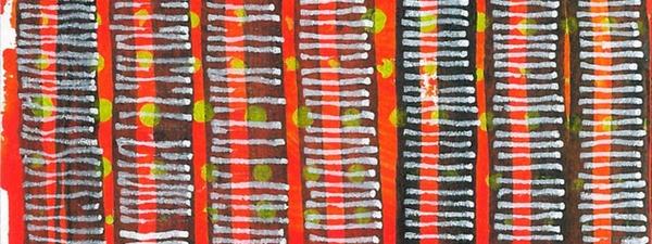 radical warp 1 orange drawing by stella untalan