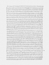 digital ink drawing made on iPad repetitive loops