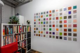 Stella Untalan 600 drawings at HBHQ Philadelphia