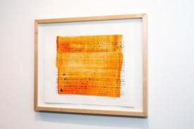 Measurements exhibition with drawings by Stella Untalan